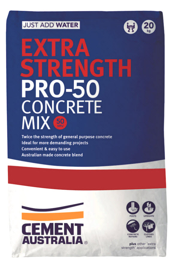 Extra Strength PRO-50 Concrete Mix